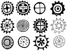 rock art symbols | Art Design and Craft