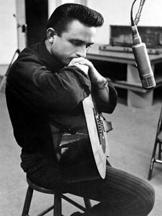 Johnny Cash  The original man in black, and the only one. Most Stylish Musicians - 50 Best Dressed Male Musicians