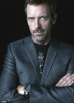 Hugh Laurie ~ There is absolutely no truth to the rumor that I am a sucker for blue eyes. Lies!