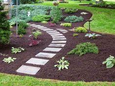 Gartentreppe selber bauen und sich den weg durch den garten erleichtern gartentreppe selber - Gartenrand gestalten ...