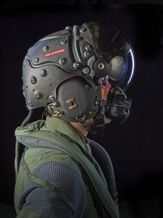 BAE STRIKER II Digital HMD on RAF Typhoon