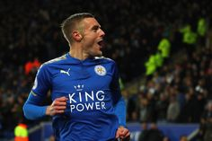 0f9e995a2e35 Wonder goals from Jamie Vardy and Riyad Mahrez gave Leicester an unlikely  2-1 victory