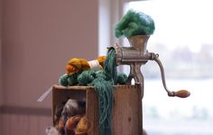 """an alternative idea of how yarn is made"" Photo by Lillemor Elfgren."