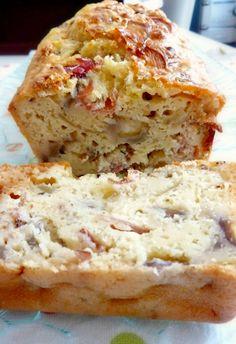 Cake salé moelleux ET léger, sans matières grasses ajoutées, magique! ;)