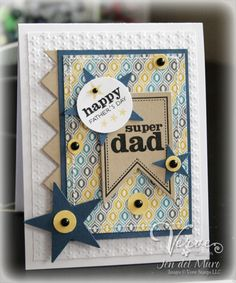 Father's Day Card with Verve Stamps