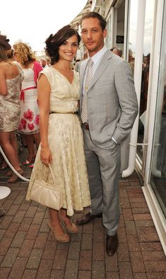 Tom Hardy and Charlotte Riley - what a good looking pair