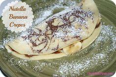 Nutella Banana Crepes Recipe