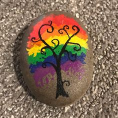 Rock Painting Patterns, Rock Painting Ideas Easy, Rock Painting Designs, Rock Painting Kids, Stone Art Painting, Pebble Painting, Pebble Art, Dot Painting, Painted River Rocks