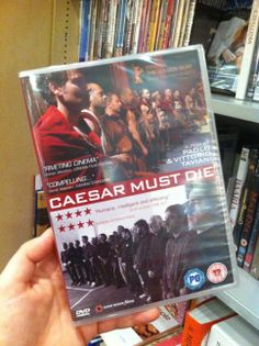 "#DVDofTheWeek: ""Caesar must die"" by Paolo and Vittorio Taviani Watch the trailer with English subtitles! Read more on the ""New Wave Films"" webpage! You can find this DVD in #London also at The Italian Bookshop, the only place with the largest collection of Italian DVD with English subtitles. (Do you like Italian Cinema? Support our ""Italian Docs Online"":#IDO14)"