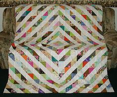 great use of scraps and I love the pattern!