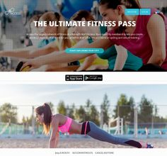 Take a look at this amazing Fitness Website with some amazing features.