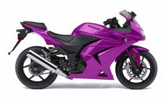 Kawasaki Ninja 250... in purple :-)