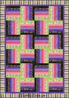 Natures Splendor Quilt Pattern 3250-2 - via @Craftsy