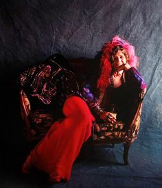 """soundsof71: """"Janis Joplin, Hollywood 1970, by Barrie Wentzell, used for the cover of 1971′s Pearl, the years 4th-best selling LP """""""
