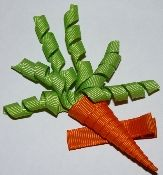 Cute carrot clip for easter time