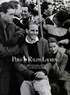 vintage Ralph Lauren advertisement via ivy-style.com