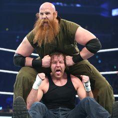 SmackDown 3/31/16: Dean Ambrose vs Erick Rowan
