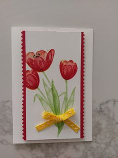 Pepperly Rose- Maria Kandylas Independent Stampin Up Demonstrator: Stampin Up! Tranquil Tulips