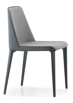 """Laja is a sleek design with polyurethane foam covered in vinyl or leather. The legs can be powder coated to match the upholstery or polished aluminum.  [share title=""""Share with friends"""" socials=""""facebook, twitter, google, pinterest, bookmark"""" class="""""""" icon_type="""""""" ]"""