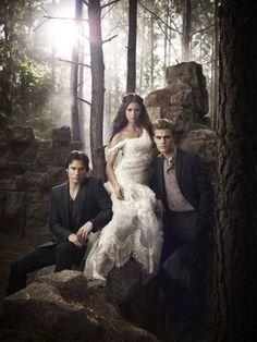 Vampire Diaries!! Love them!