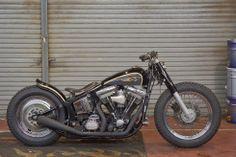 1994 Harley FLSTC - Rawcal Speed Shop - Inazuma Cafe Racer