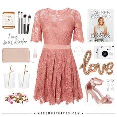 I'm a sweet disaster   Dit jurkje uit onze nieuwe collectie is zoeter dan zoet maar o zo leuk!