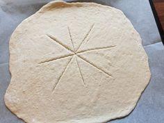 Pizzakrans - Fra mitt kjøkken Pizza, Bread, God, Dios, Brot, Baking, Allah, Breads, Buns