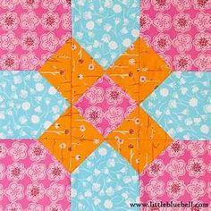 Easy quilt block | Quilt Blocks | Pinterest