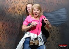 Scream Queens trying to survive Nightmares Fear Factory! Caption please and keep it clean. www.NightmaresFearFactory.com. #Niagara #Falls #haunted #House #attraction #scary #zombies #spooky #horror #fear #terror #vampires #ghosts