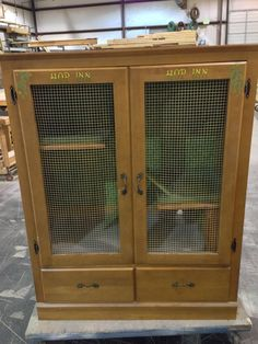 It Started With An Old Hutch. And Ended With The Most Adorable Thing I've Ever…