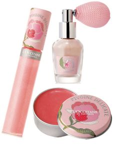L'Occitane Pivoine Delicate collection- perfect for traveling
