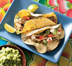 Chicken Barbacoa Tacos from Cooking Club.