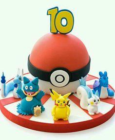 Pokemon cake for my tenth birthday