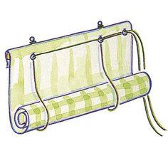DIY: roll-up blind | Craft & DIY | Pinterest | DIY and crafts ...