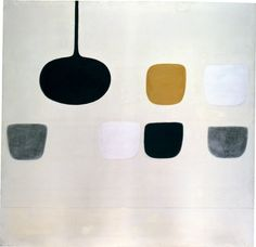 William Scott, Untitled, 1970, Oil on canvas, 167.6 × 172.7 cm / 66 × 68 in, Whereabouts unknown