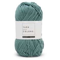 Yarn and Colors Must-have 072 Glass - 2 euro Haakkatoenshop.nl!