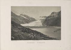 Norge fremstillet i Tegninger - Ukjent - Svartisen i Nordland. jpg (6080×4360)