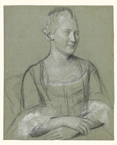 Portrait of a Woman Maker Name: Jean-Étienne Liotard (Swiss, 1702 - Type: Drawings Medium: Black, white and traces of red chalk on blue paper Date: 1758 - 1762 Source: J. Grand Tour, Giacometti, Ink Pen Art, Drawing Heads, Unique Drawings, Toned Paper, Getty Museum, Old Master, Art Studies