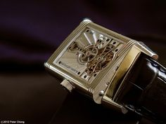 Watchscapes: High Resolution Photography by Peter Chong: Jaeger LeCoultre Platinum 2