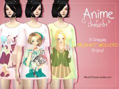 Sims 4 CC's - The Best: Shirt by Hikariichaan
