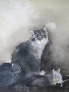 Cat Art beautyful