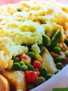 Easy crockpot recipes: Turkey Dinner Casserole Crockpot Recipe