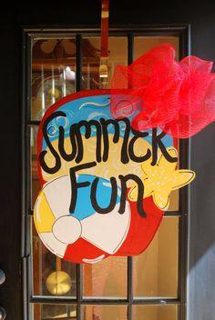 Summer Fun Door Hanger