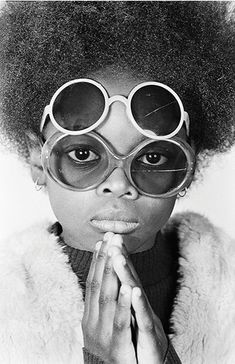 """Dennis Morris : Soul Sister, Hackney, 1974. """"I was taking photographs at a pivotal time for black people in Britain, politically and culturally,"""" says Dennis Morris. """"Suddenly we weren't coloured people any more – we were black. It was a question of pride and of self-definition."""""""