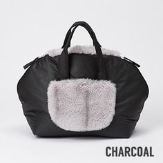 Fur Around Any Where You GO! – Lightweight, Construct out of water resistant synthetic fabric – Lined with soft faux fur – Feature soft fur front pocket and end-to-end back pocket – By unzipping 2 side zippers, the bag will be wide spread open for cosy space – Mid length handles for tote and shoulder [...]Read More...