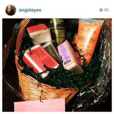 A #SheaMoisture housewarming gift for Ms. #AngelaYee. #regram