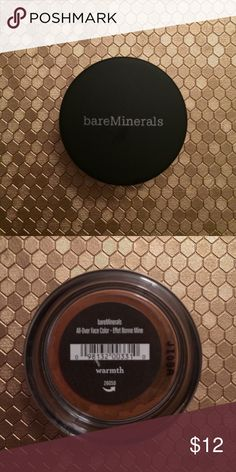 NWT bare minerals all over face color Color warmth bareMinerals Makeup Luminizer