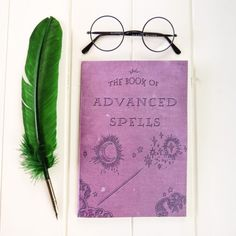 A notebook that will motivate you to take out your quill and study potions.