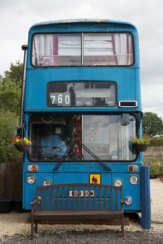 This family transformed a double-decker bus into the ultimate escape