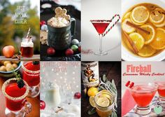 Hot Toddies and Winter Warmers Mood Board from The Wedding Community